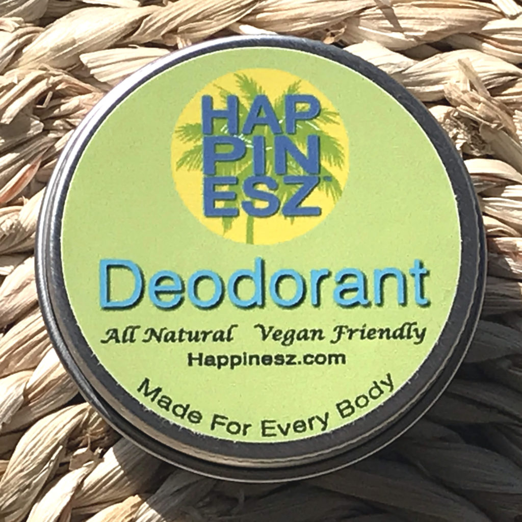 The Happinesz Vegan All Natural Deodorant