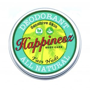 Happinesz Vegan Deodorant TAOS NUDE