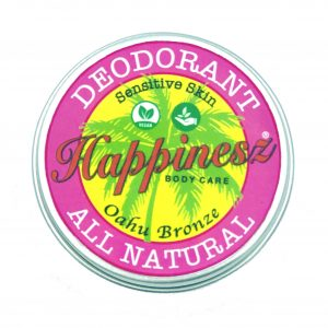 Happinesz vegan deodorant OAHU